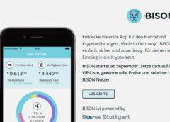 Bison trading app