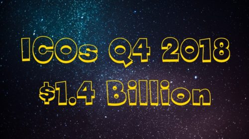$1.4 Billion Raised via ICOs in Q4 2018