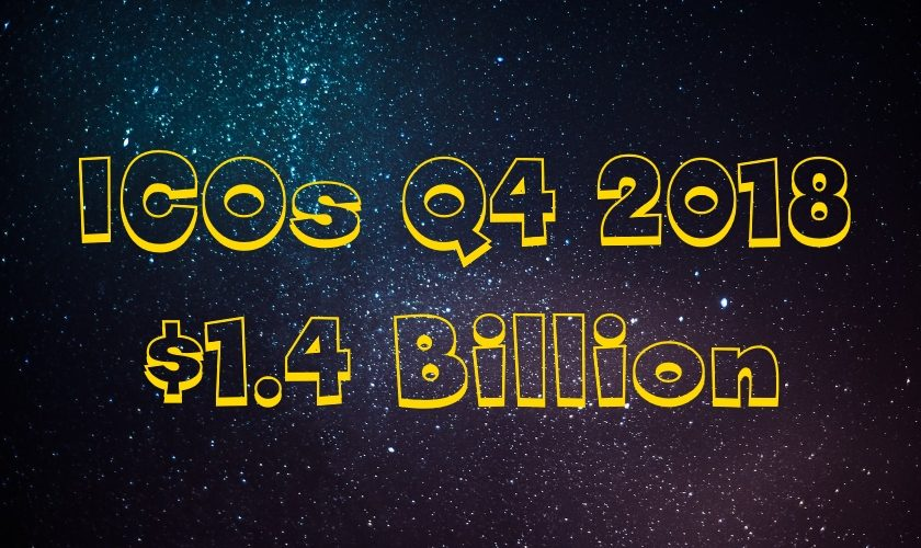 1.4 Billion Raised via ICOs in Q4 2018