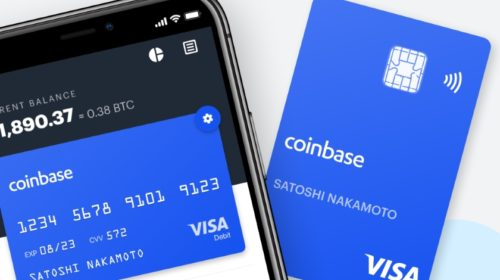 Coinbase Crypto Exchange Debuts Visa Card for UK Customers