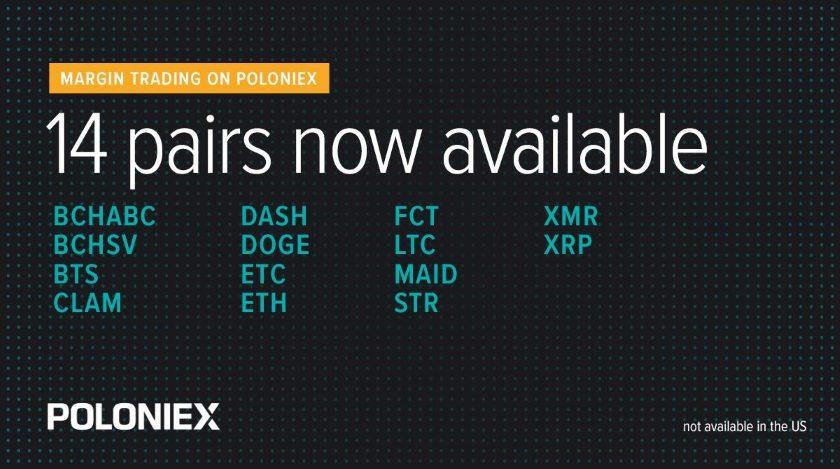 Poloniex new pairs