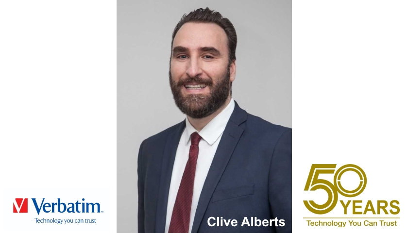 Clive Alberts Verbatim president